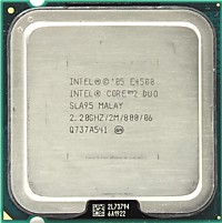 Intel Core 2 Duo E4500 2.2 GHz 2core 2Mb 65W 800MHz LGA775